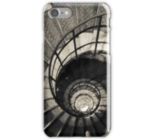 Fine art image; Spiral staircase in the Arch d' Triumph, Paris. iPhone Case/Skin