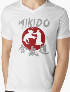 Aikido The Art of Peace Mens V-Neck T-Shirt