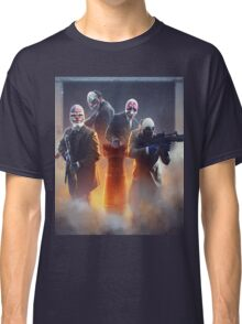 Payday 2 - The crew  Classic T-Shirt