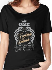 ONE In Tribe of Judah   Bible History = Our History Women's Relaxed Fit T-Shirt