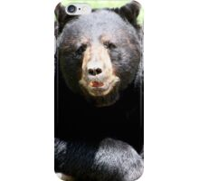 Ours noir iPhone Case/Skin