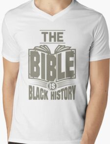 The Bible is Black History   Hebrew Israelite Clothing T-Shirt