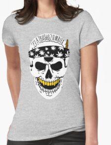 Flatbush Zombies White Skull Tee Womens Fitted T-Shirt
