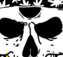 Flatbush Zombies White Skull Tee Sticker