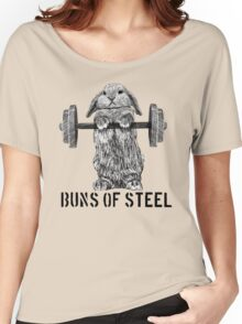 Buns of Steel (Light) Women's Relaxed Fit T-Shirt