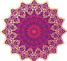 Mandala design by sweetslay
