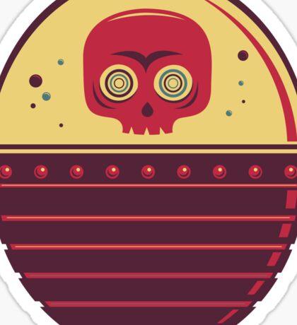 Skull Tank Sticker