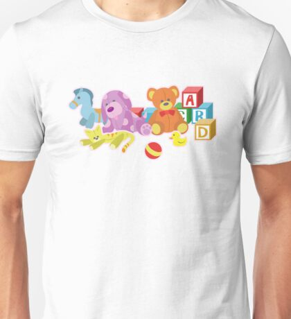 Cute Dolls (Pink) Unisex T-Shirt