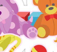 Cute Dolls (Pink) Sticker