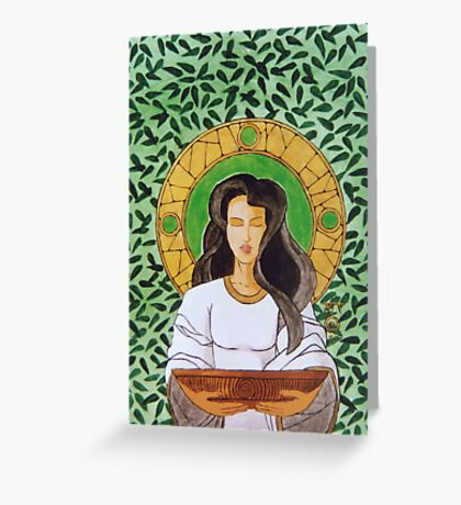 Druid icon Greeting Card