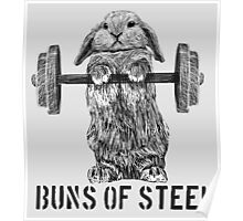 Buns of Steel (Light) Poster
