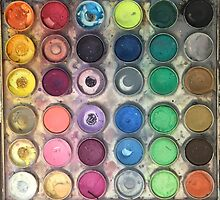 Watercolor Palette by ally1021