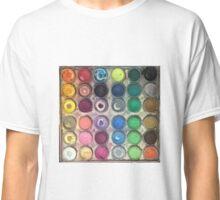 Watercolor Palette Classic T-Shirt