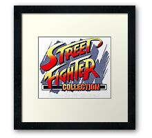 street fighter Framed Print