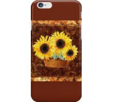 Sunflower Basket iPhone Case/Skin