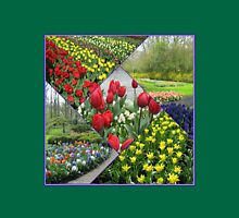 Tulips and Hyacinths - Keukenhof Collage Womens Fitted T-Shirt