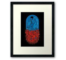 Capsule 41 - Tetsuo Akira Framed Print
