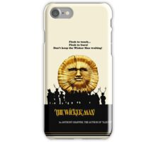 """The Wicker Man """"Vintage Style""""  iPhone Case/Skin"""