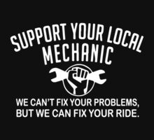 Support Your Local Mechanic One Piece - Short Sleeve