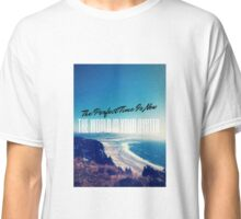 The World is your Oyster Graphic Design Classic T-Shirt