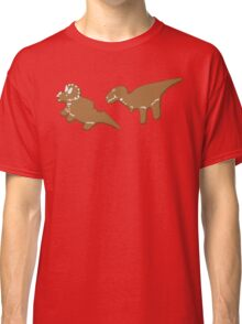 Gingerbread Dinos Classic T-Shirt