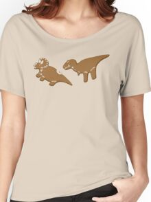 Gingerbread Dinos Women's Relaxed Fit T-Shirt