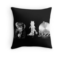 TRIO JAZZ Throw Pillow