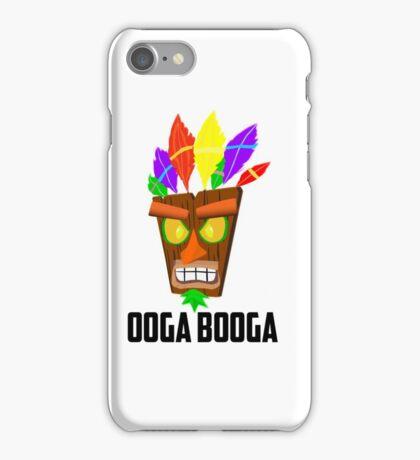 Crash Bandicoot (ooga booga) iPhone Case/Skin
