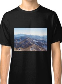 Winter, The Great Wall of China Classic T-Shirt