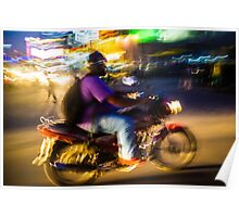 Bangalore Motorbike Poster
