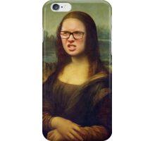 Tyler Oakley Mona Lisa Frown iPhone Case/Skin