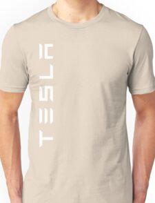 Tesla Side Logo! Unisex T-Shirt