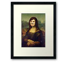 Danisnotonfire Mona Lisa Framed Print