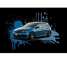 VW Golf R Photographic Print