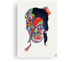 Chameleon (David Bowie - Aladdin Sane) Canvas Print