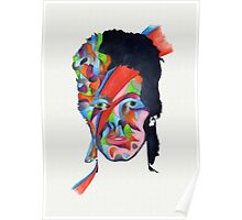 Chameleon (David Bowie - Aladdin Sane) Poster