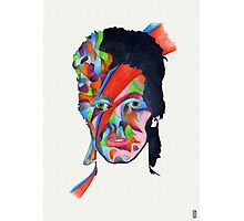 Chameleon (David Bowie - Aladdin Sane) Photographic Print