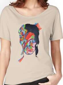 Chameleon (David Bowie - Aladdin Sane) Women's Relaxed Fit T-Shirt