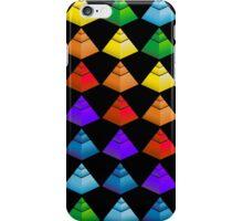 Pyramids in Black iPhone Case/Skin