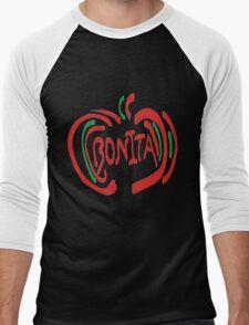 Bonita Apple Men's Baseball ¾ T-Shirt