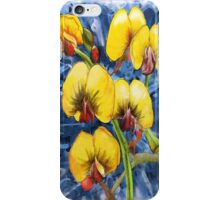 Bacon & Eggs Abstract Flower Painting iPhone Case/Skin
