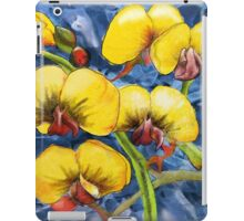 Bacon & Eggs Abstract Flower Painting iPad Case/Skin