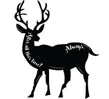 Always - Snape's Patronus by SarGraphics