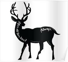 Always - Snape's Patronus Poster