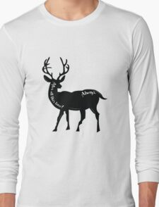 Always - Snape's Patronus Long Sleeve T-Shirt