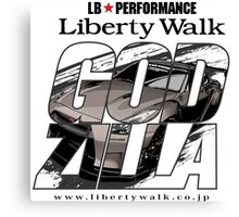 liberty walk Canvas Print