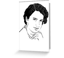 Rosalind Franklin Greeting Card