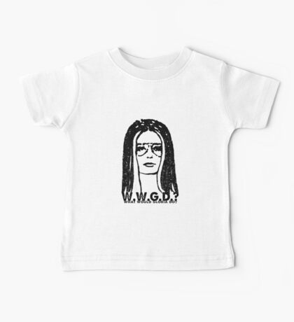 W.W.G.D.?: WHAT WOULD GLORIA DO? Baby Tee