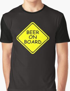 BEER ON BOARD Graphic T-Shirt