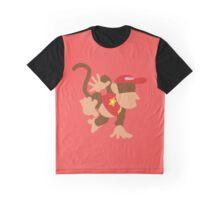 Smash Bros - Diddy Kong Graphic T-Shirt